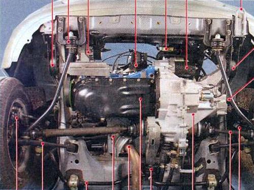 Передняя подвеска ВАЗ-1118