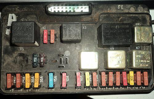 Монтажный блок ВАЗ-2108 (2114)